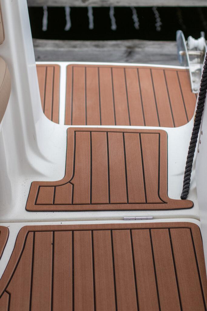 Linedeck -venematto ruskea 7